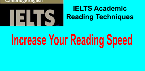 Techniques To Increase Your Reading Speed