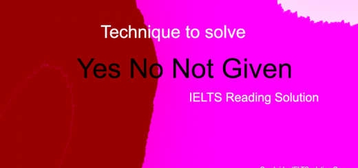 How To Solve Yes No Not Given in IELTS Reading Module